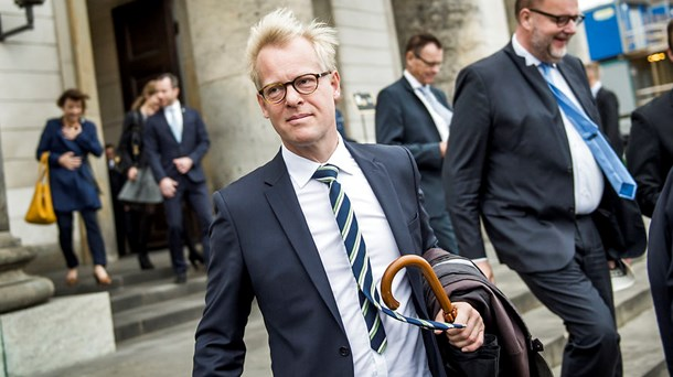 Carl Holst klar til at genopstille til Folketinget