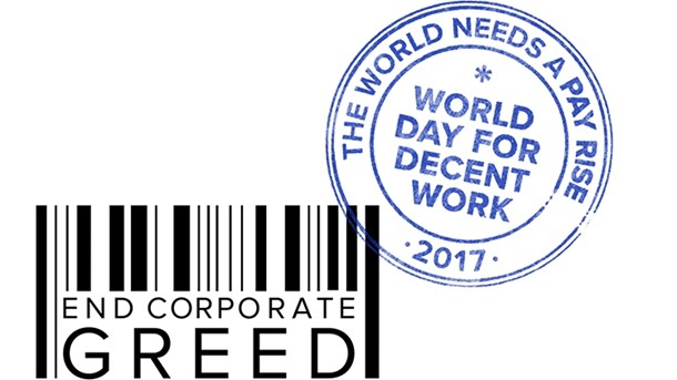 Lørdag 7. oktober er 'World Day for Decent Work'.