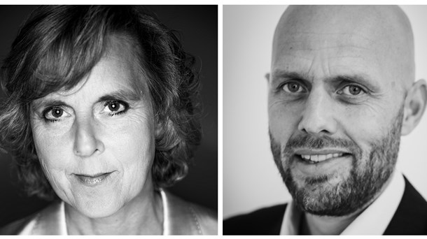 Connie Hedegaard og Christian Ibsen.